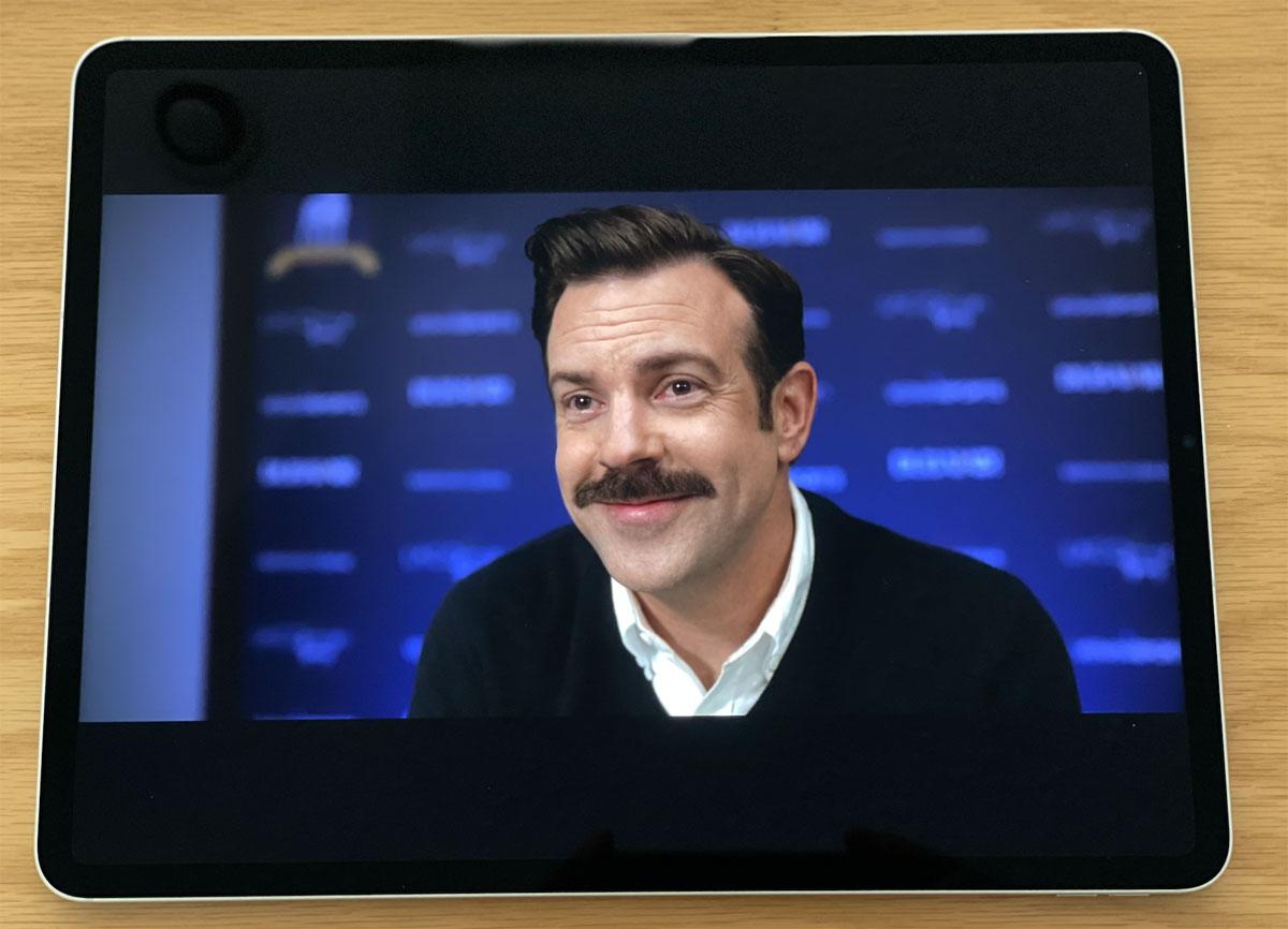 Ted Lasso en iPad Pro