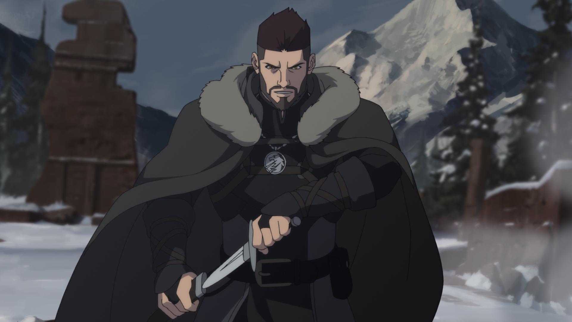 The Witcher anime