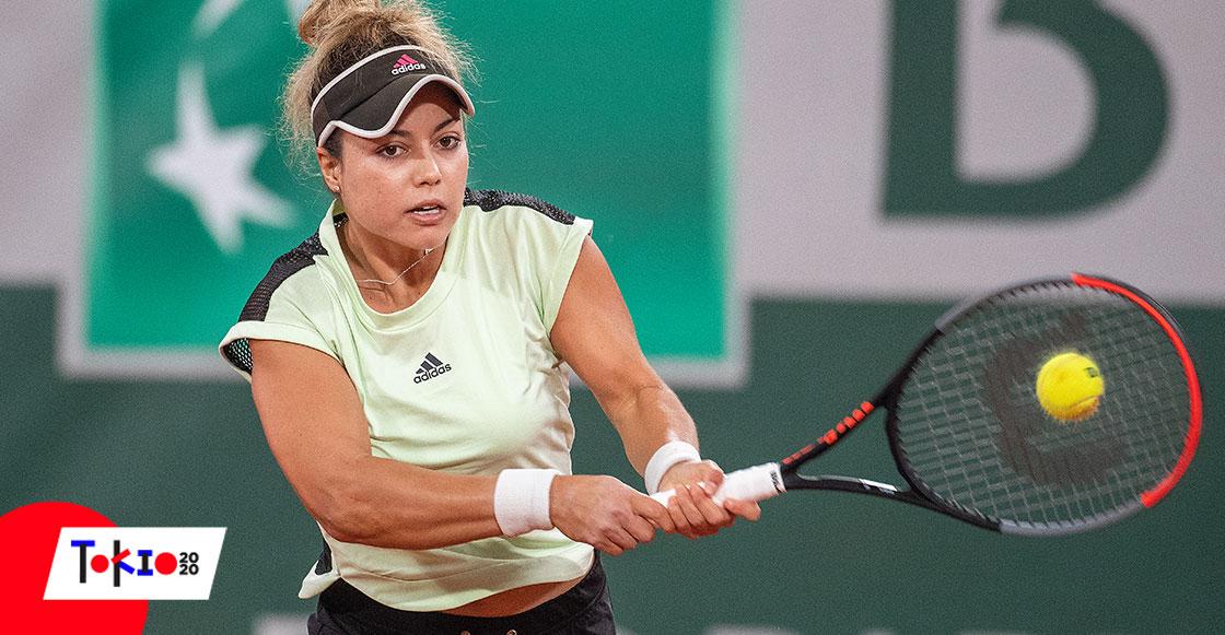 Renata Zarazúa Ronald Garros Tokio 2020