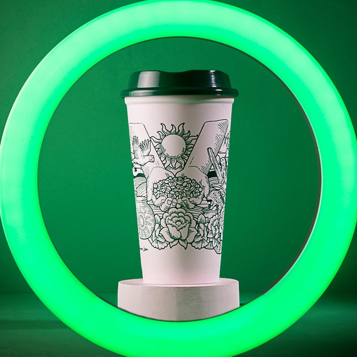 Vaso de edición limitada de Starbucks