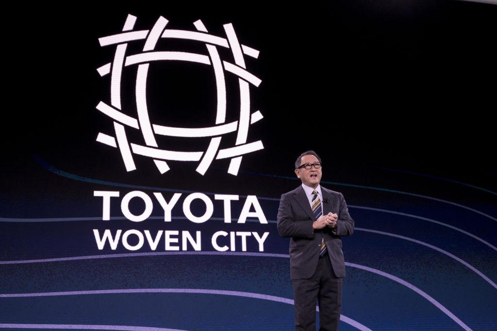 Akio Toyoda, CEO de Toyota