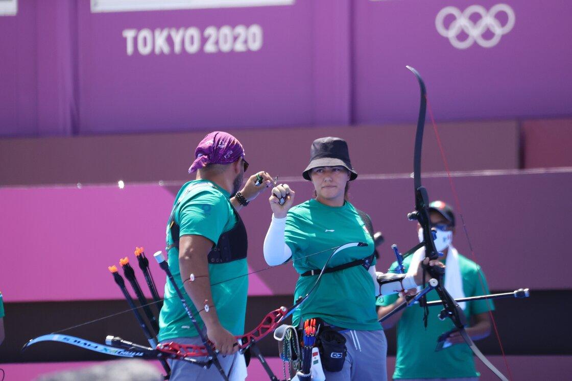 ¡Alejandra Valencia y Luis Álvarez consiguieron la primera medalla para México en el tiro con arco de Tokio 2020!