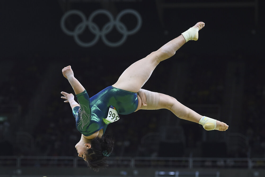 Alexa Moreno, la gimnasta que superó las críticas antes de volver a los Juegos Olímpicos