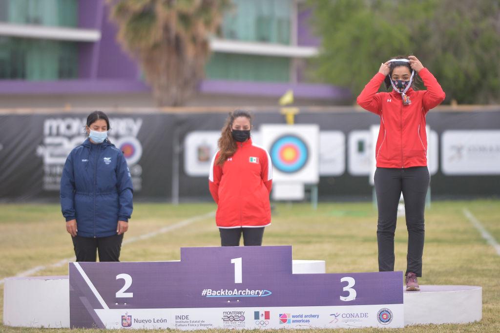 Ana Vázquez se pone medalla sola