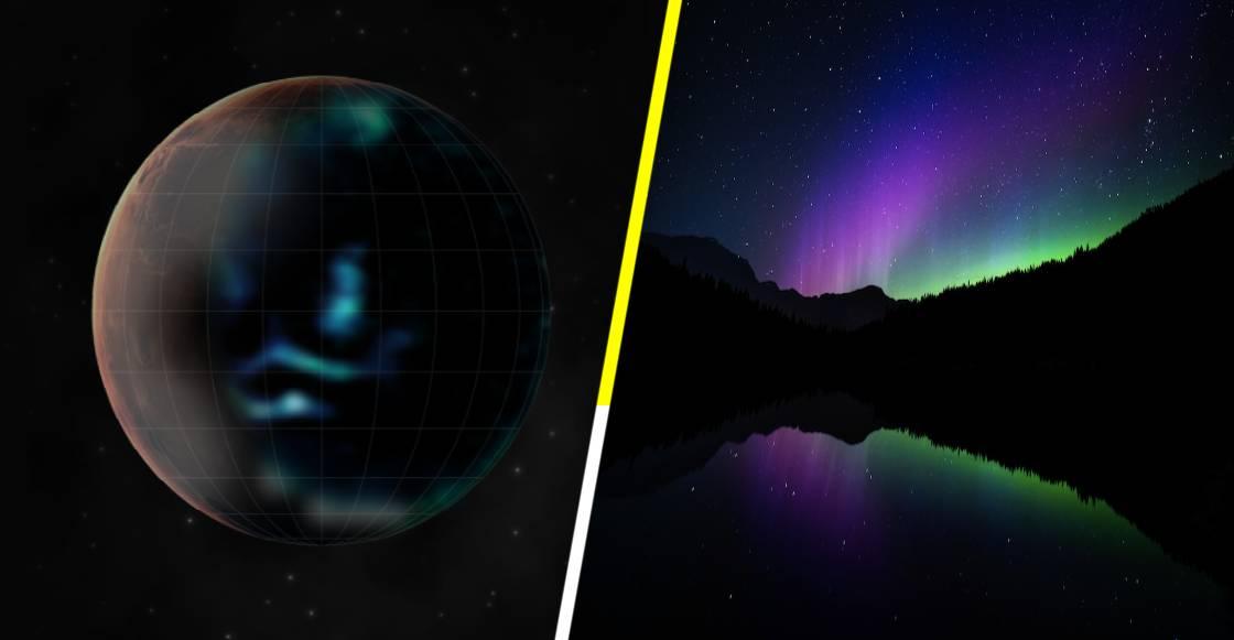 ¡Wow! La sonda Hope capta las primeras imágenes de auroras boreales en Marte