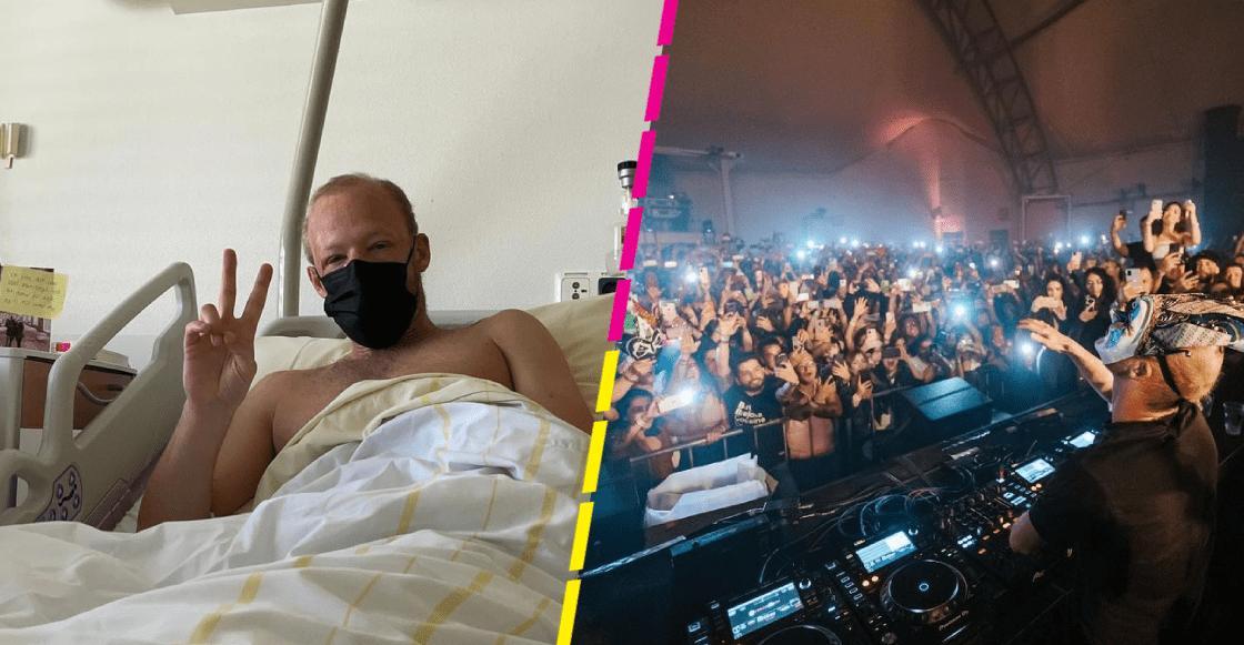 Hospitalizan al DJ Boris Brejcha tras dar conciertos en México