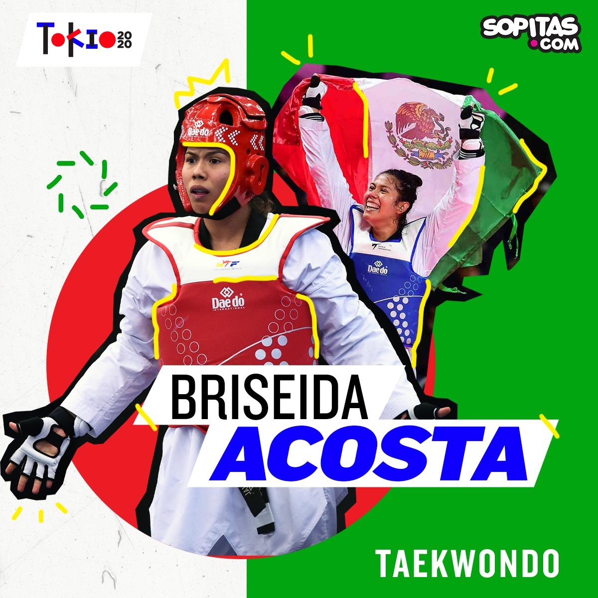 Briseida Acosta en Tokio 2020