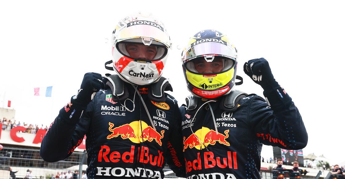 Clasificación sprint Checo Pérez Red Bull