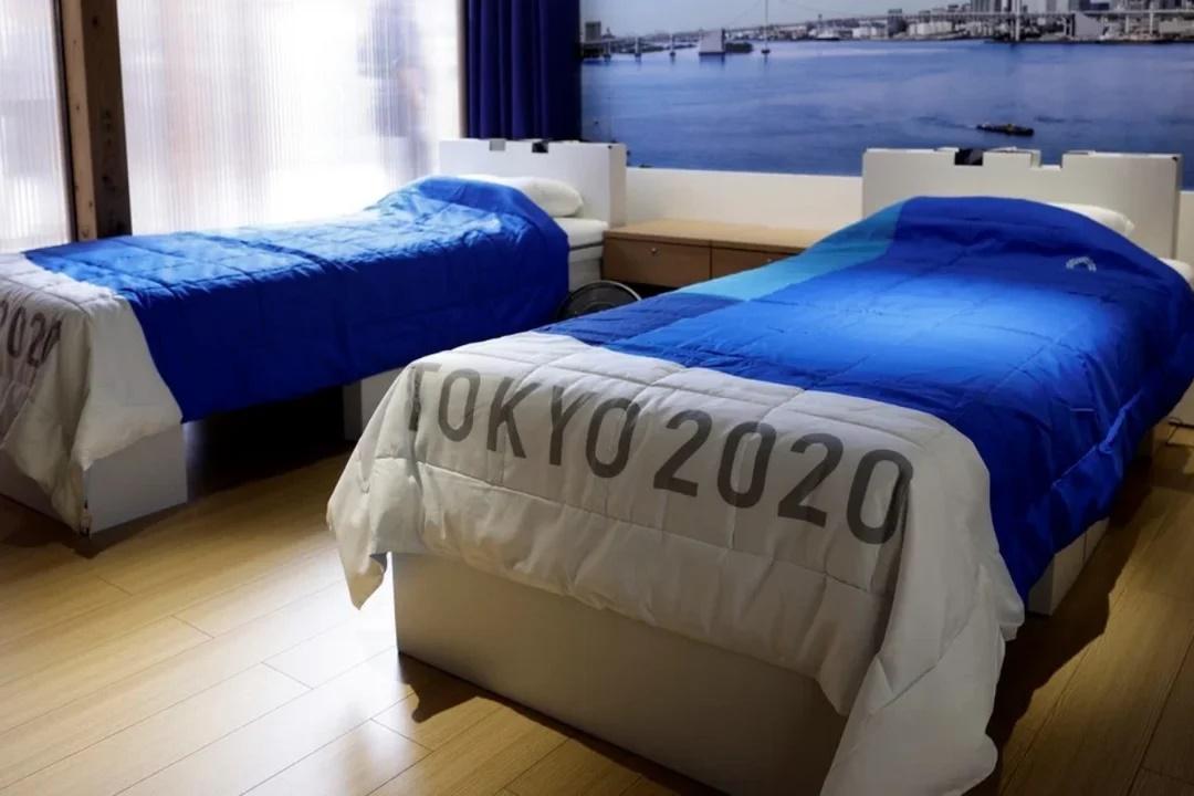¿Realmente las camas de la Villa Olímpica de Tokio 2020 son antisexo para evitar contagios COVID?