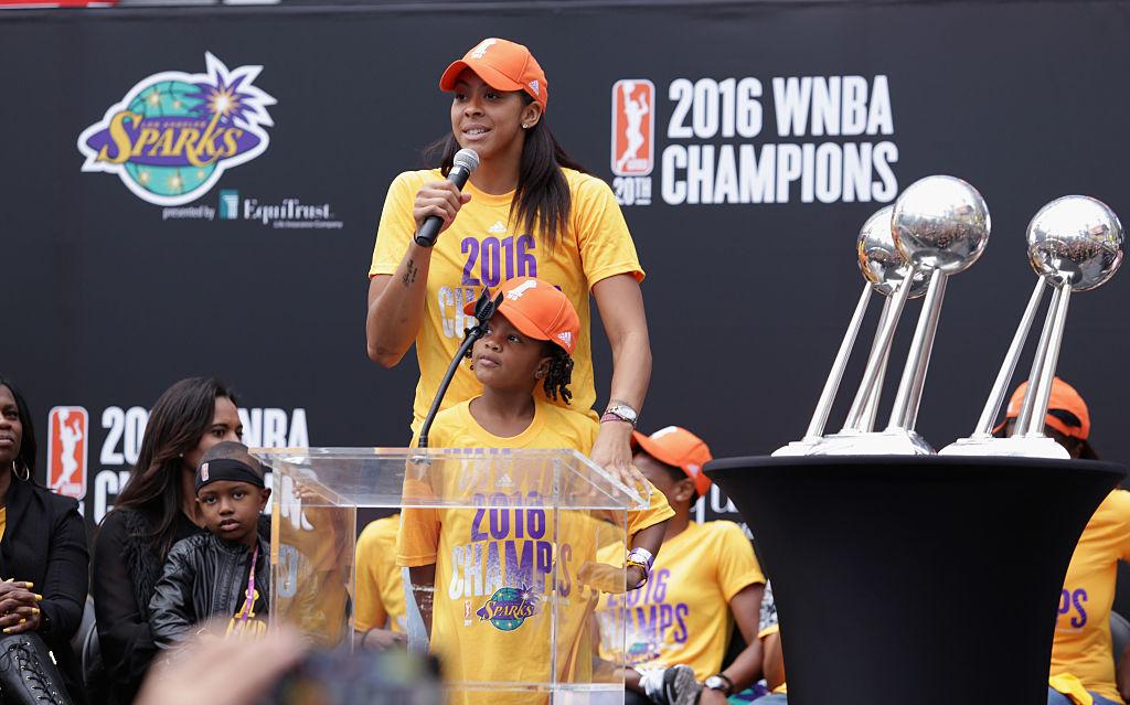 Candace Parker campeona de la WNBA en 2016