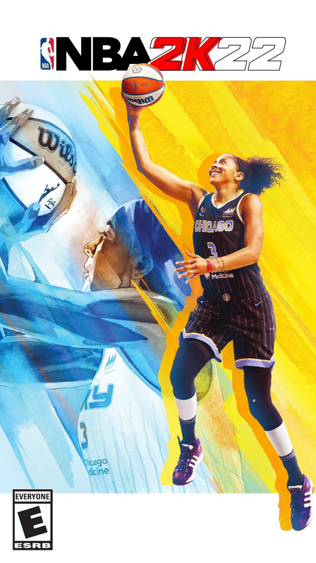 Candace Parker portada del NBA2K22
