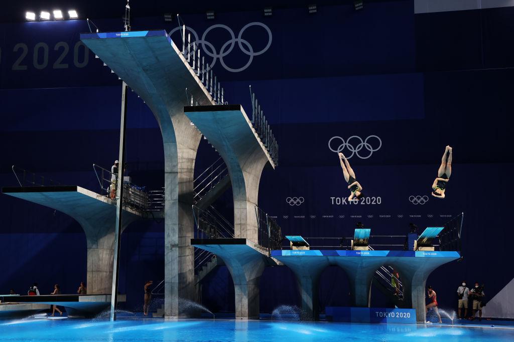 Así le fue a Caro Mendoza y Dolores Hernández en los clavados sincronizados en trampolín de 3 metros