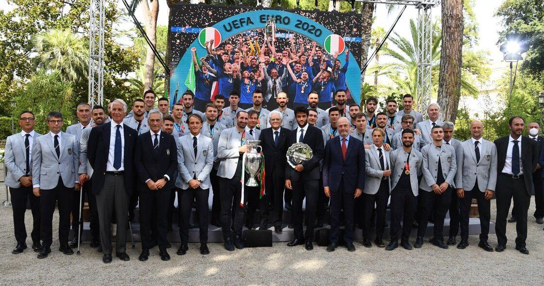 En imágenes: Italia desfiló en Roma y visitó al primer ministro después de ganar la Eurocopa