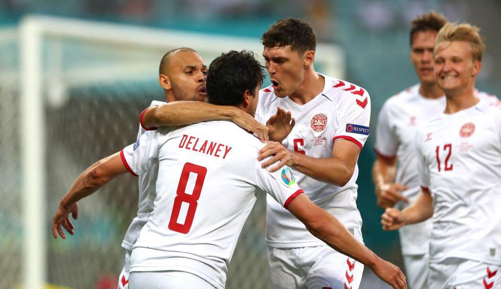 Los goles con los que Dinamarca eliminó a República Checa y se metió a semifinales de la Eurocopa