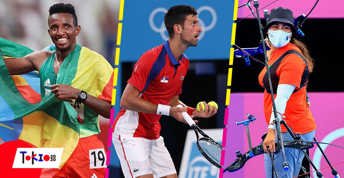 Mientras dormías: La eliminación de Djokovic, la dramática despedida de Ale Valencia y la primera medalla en atletismo de Tokio 2020