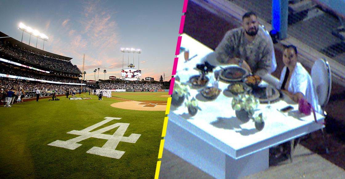 ¡Love is in the air! Drake rentó el estadio de los Dodgers para una cita romántica