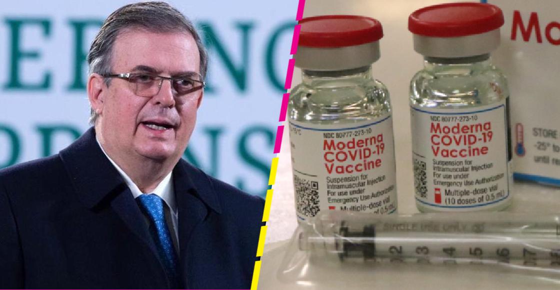 """Ebrard anuncia que México aprobará """"muy pronto"""" la vacuna contra COVID de Moderna"""