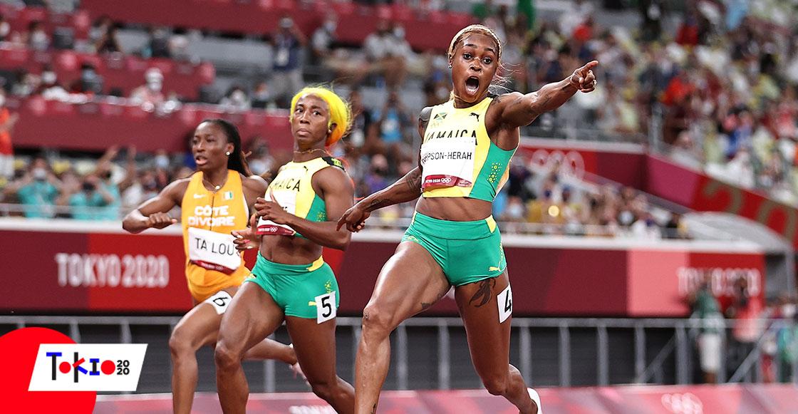 Elaine Thompson-Herah, la mujer más rápida del mundo tras vencer a Shelly-Ann Fraser-Pryce en Tokio 2020