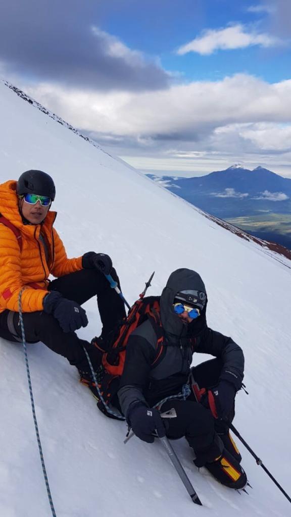 ¡Orgullo mexa! Conoce a Rafa Jaime, el mexicano invidente que alcanzó la cima del Monte Denali