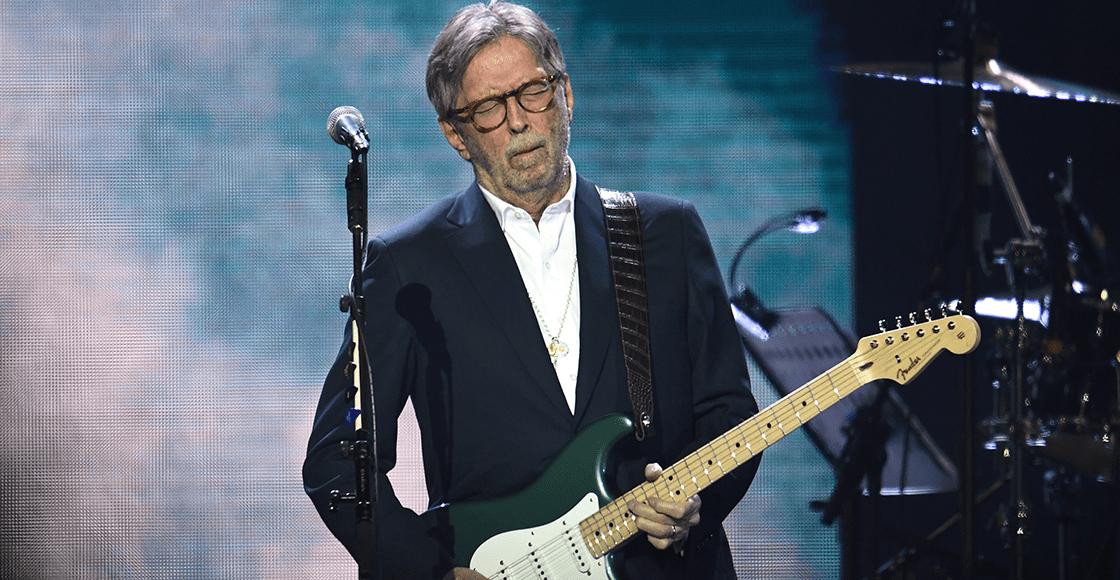 Eric Clapton dice que no dará conciertos en los que se exijan pruebas de vacunación
