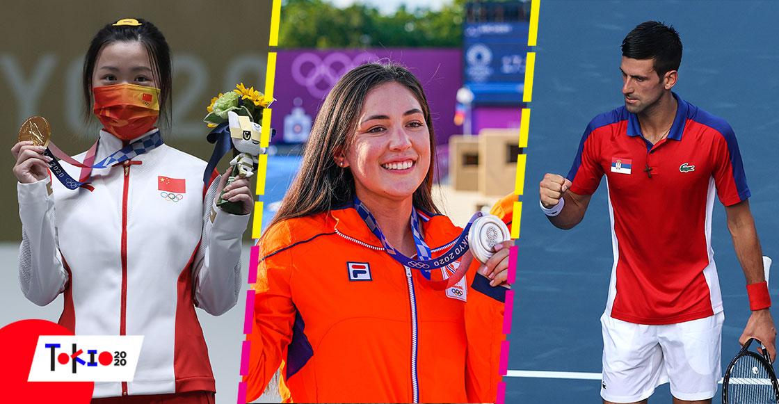 Mientras dormías: La mexicana que ganó plata con otro país, debut de Djokovic y la primera medalla en Tokio 2020