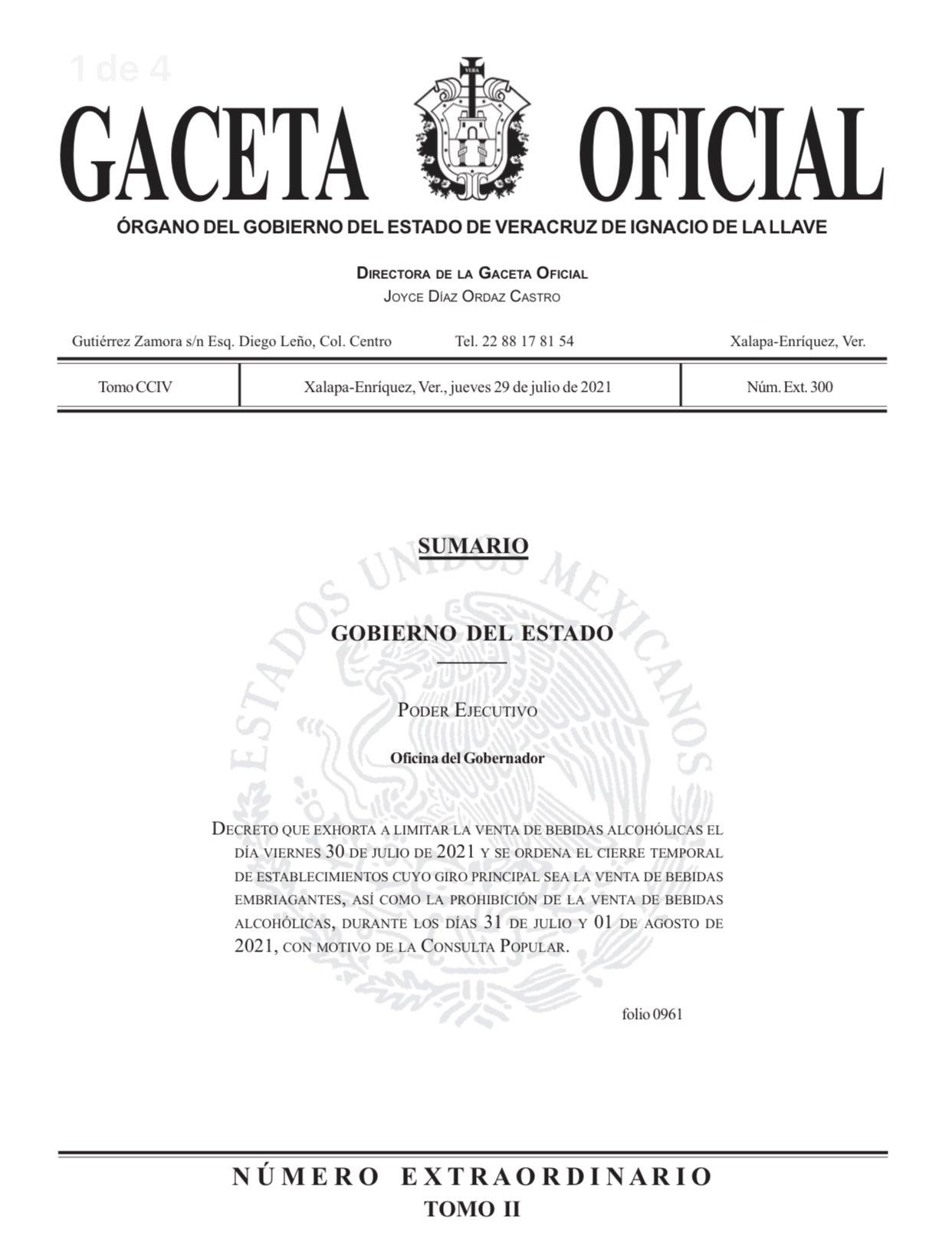 gaceta-oficial-ley-seca-veracruz