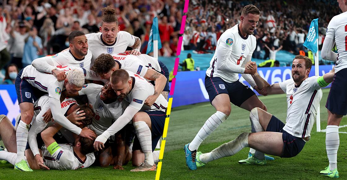 ¡Adiós Dinamarca! El gol de Harry Kane con el que Inglaterra calificó a la final de la Eurocopa
