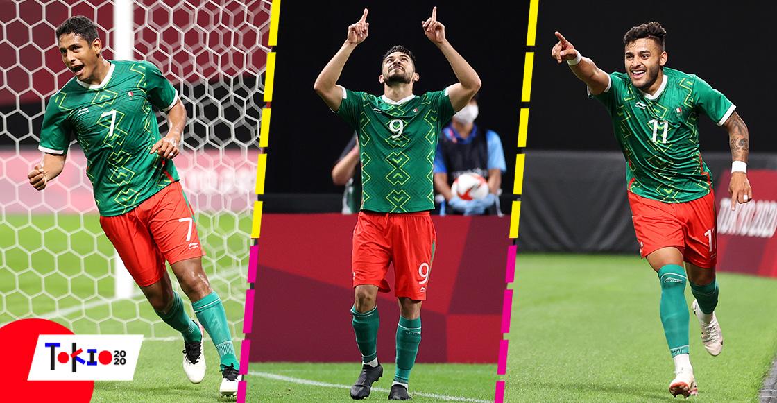 ¡A cuartos! Los goles con los que México venció a Sudáfrica y aseguró su pase en Tokio 2020