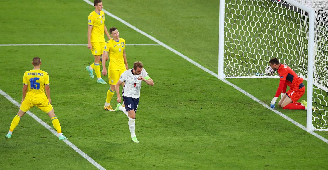 Los goles del humillante repaso de Inglaterra sobre Ucrania en la Eurocopa