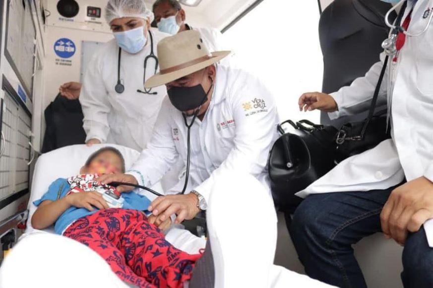 Jacobo, el niño indígena envenenado con pan regresa a su casa en Veracruz