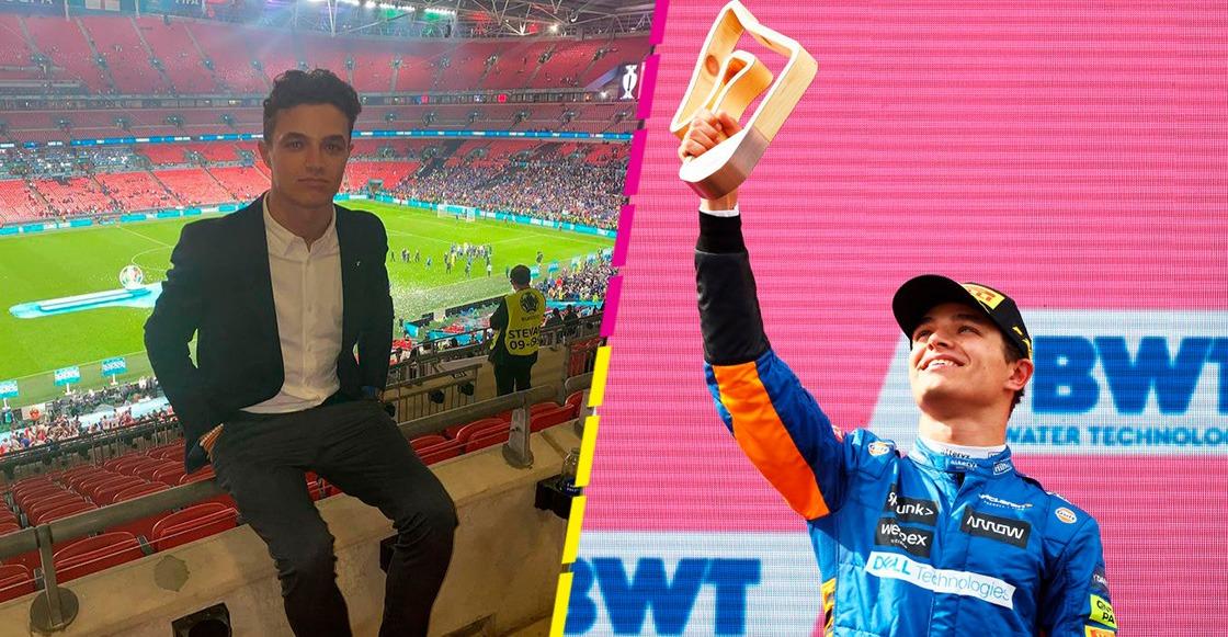 Bad luck: Asaltaron a Lando Norris al salir de Wembley tras la Final de la Eurocopa