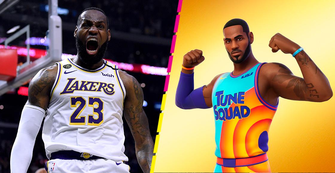 ¡Como un Rey! Epic Games presentó la llegada de LeBron James a Fornite