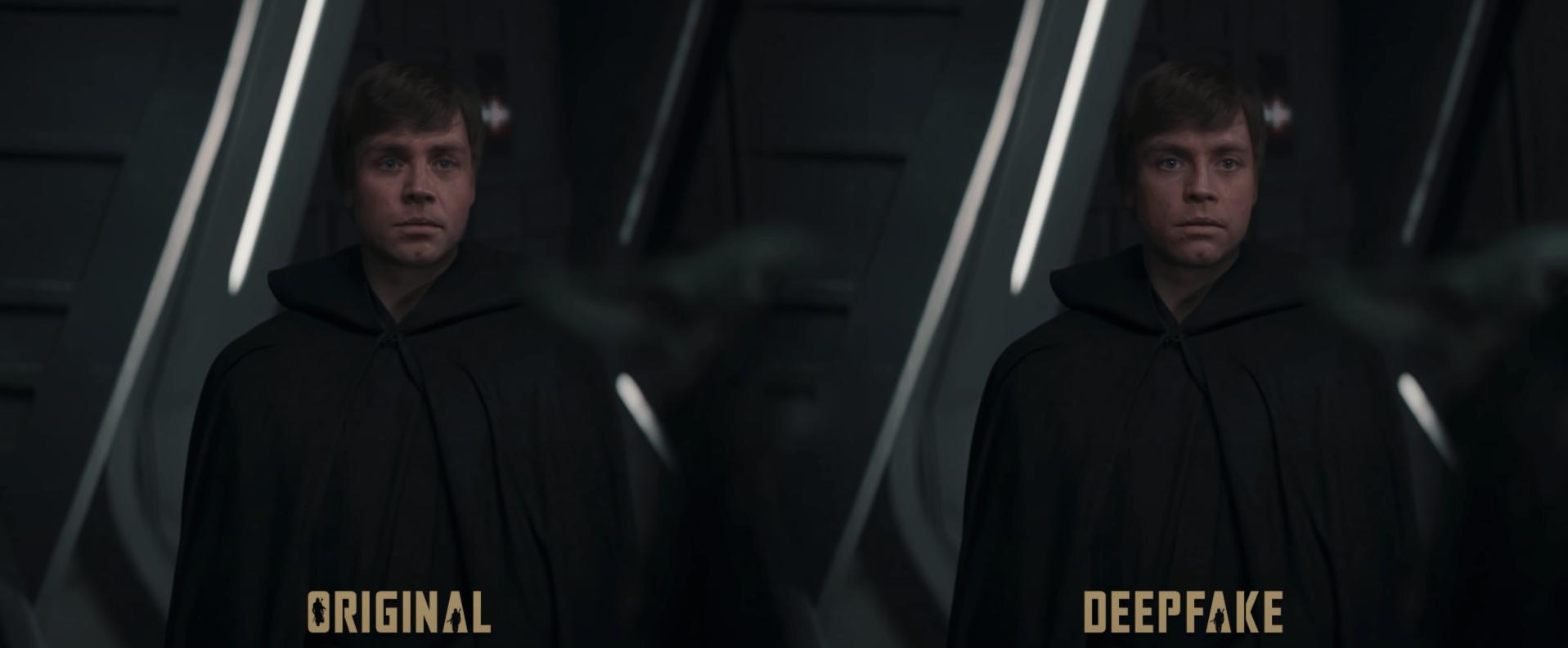 Luke Skywalker deepfake