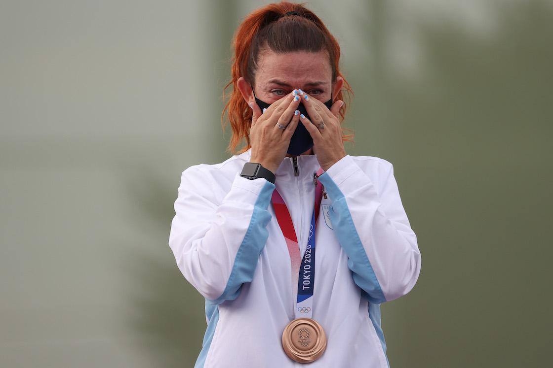 Primera medalla de San Marino