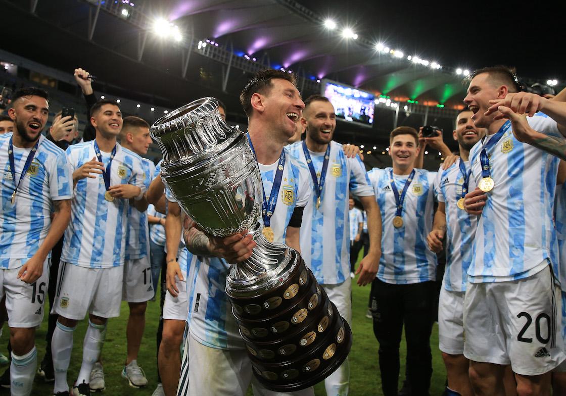 Messi Campeón Copa América