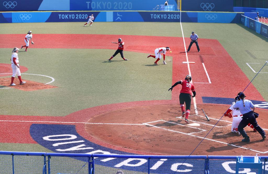 México vs Canadá en los Juegos Olímpicos de Tokio 2020 en softbol