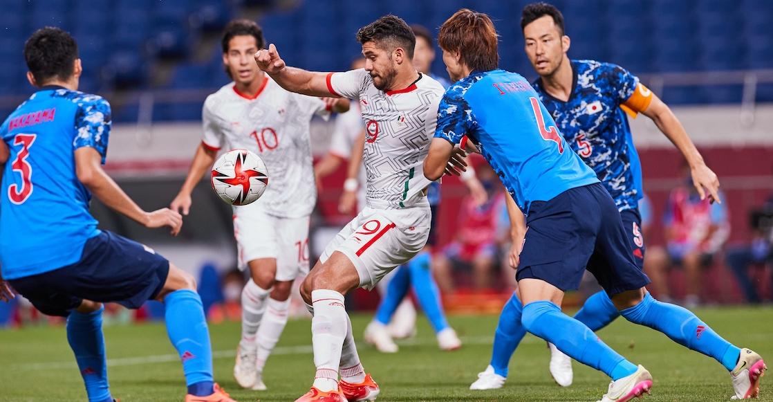 Japón 'noquea' a México en solo 11 minutos y aquí están los goles en Tokio 2020