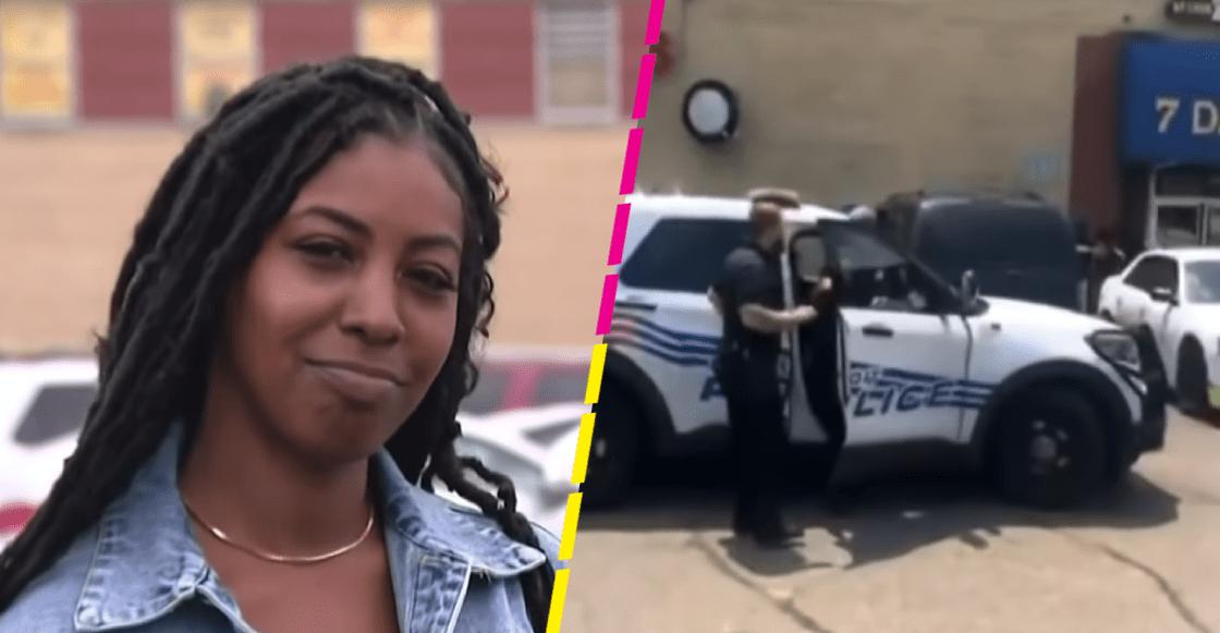 Le cayó la voladora: Mujer rastrea su coche robado y detiene al ladrón en una barbería
