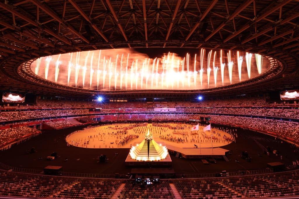 Sin aficionados: Así fue cómo Naomi Osaka encendió el pebetero olímpico de Tokio 2020