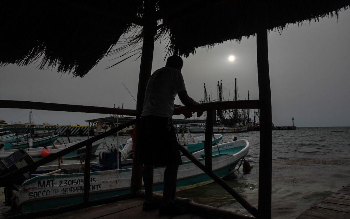 nube-polvo-sahara-yucatan-conagua