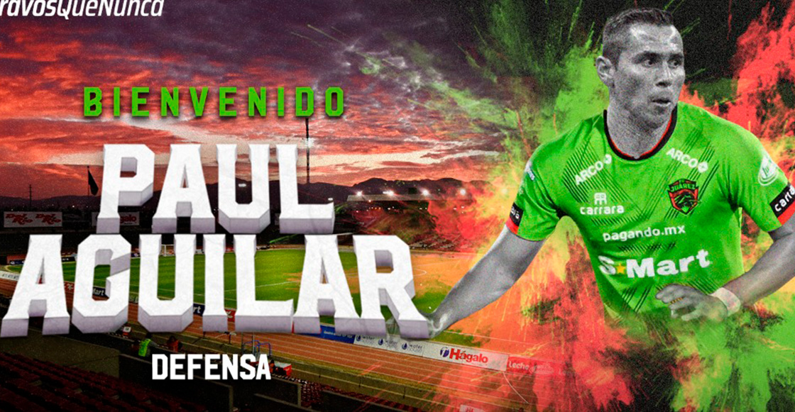 ¡Vuelve a la Liga MX! Paul Aguilar defenderá la camiseta de los Bravos de Juárez