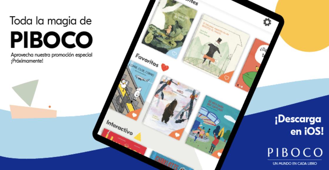 PIBOCO: Una app con libros increíbles para los niños digitales de hoy