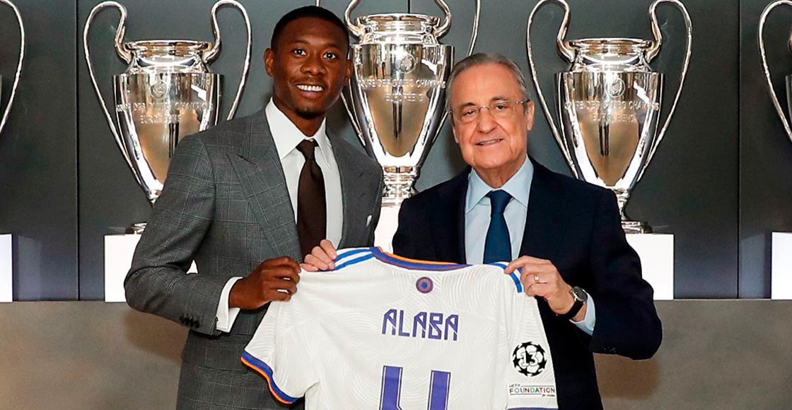 El Real Madrid presentó oficialmente a David Alaba; usará el dorsal 4 que dejó Sergio Ramos