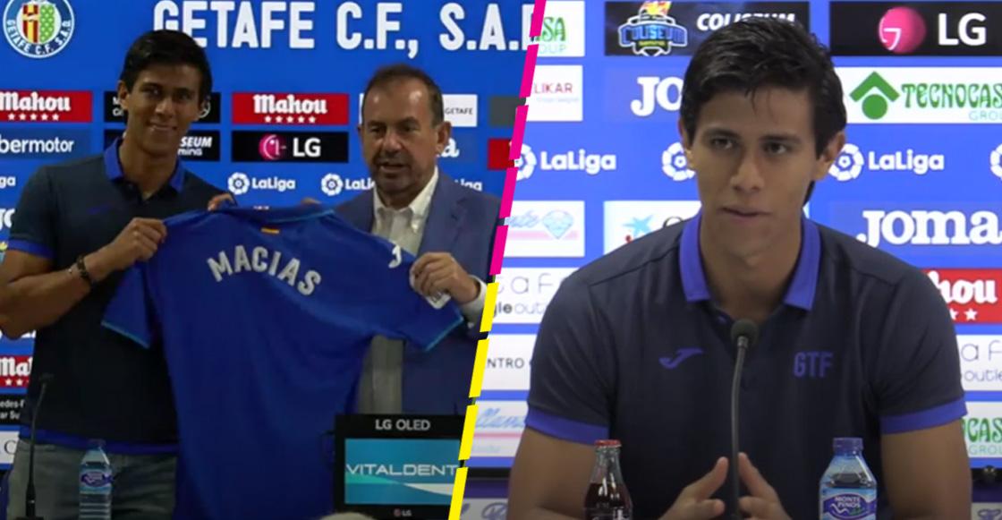 """Las primeras palabras de JJ Macías con el Getafe: """"Mi principal virtud es el gol"""""""