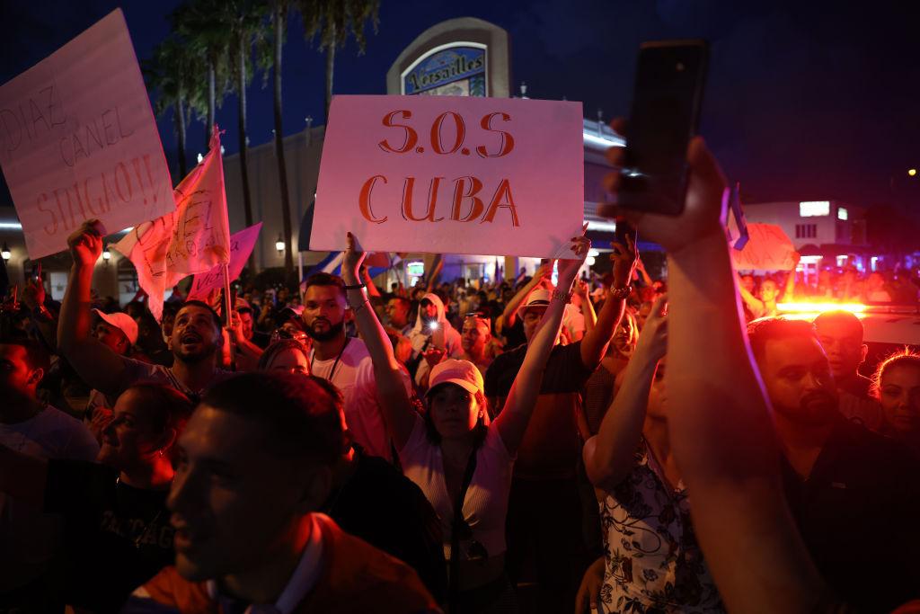 protesta-little-havana-cuba