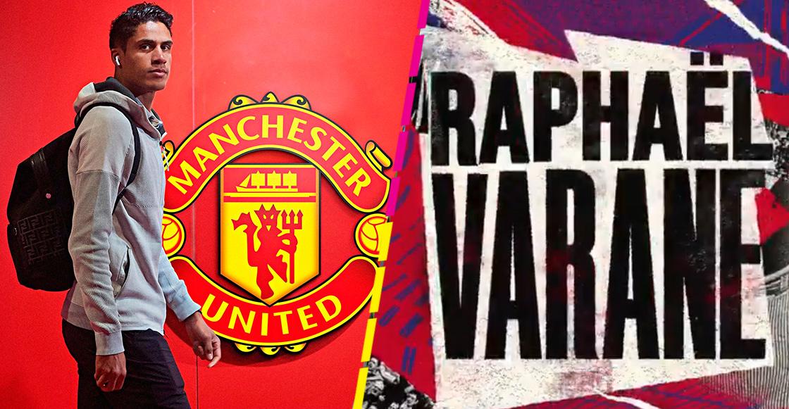 Oficial: Real Madrid y Manchester United acuerdan el traspaso de Raphaël Varane