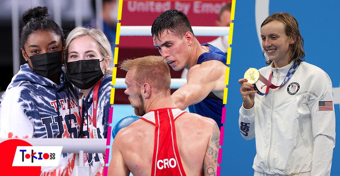 Mientras dormías: La pelea del mexicano Rogelio Romero, el segundo retiro de Biles y el primero oro de Katie Ledecky en Tokio 2020