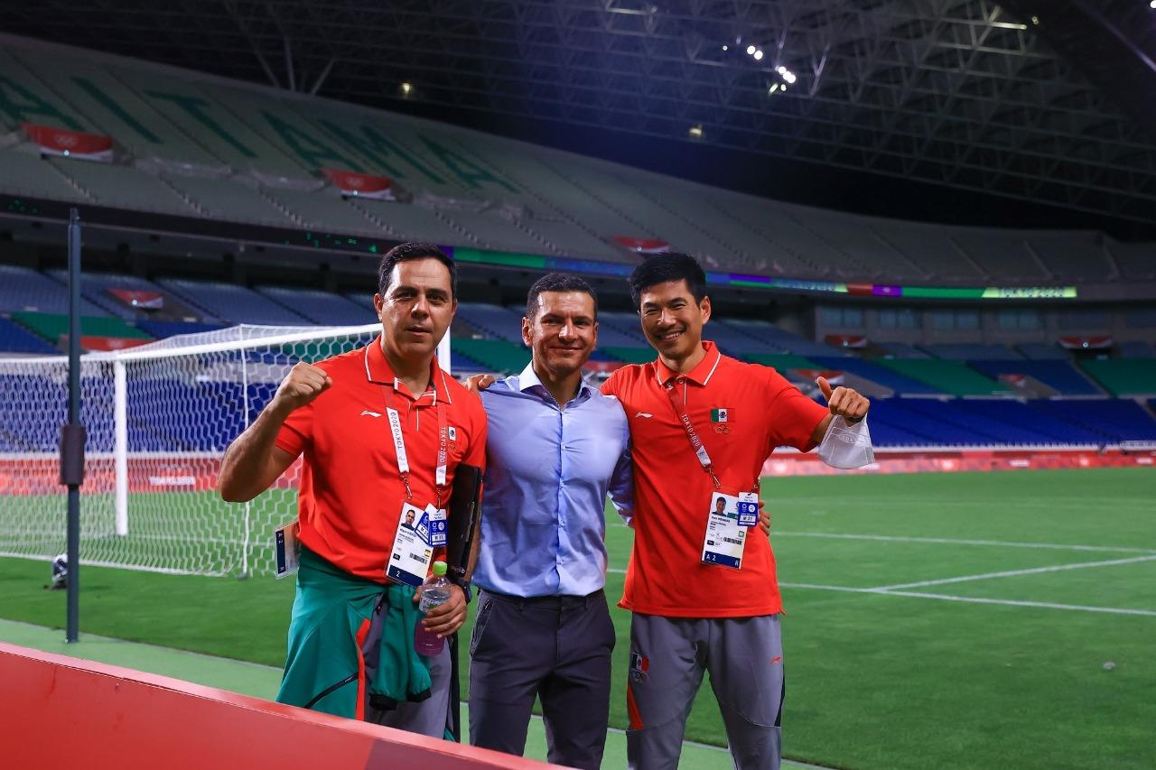 Ryota Nishimura, el japonés que acompañó a la Selección Mexicana en los Juegos Olímpicos de Tokio 2020