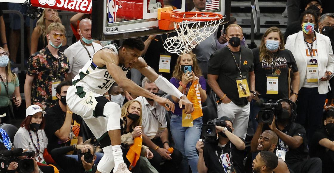 La salvaje clavada con la que Antetokounmpo deja a los Bucks a un triunfo del título de la NBA