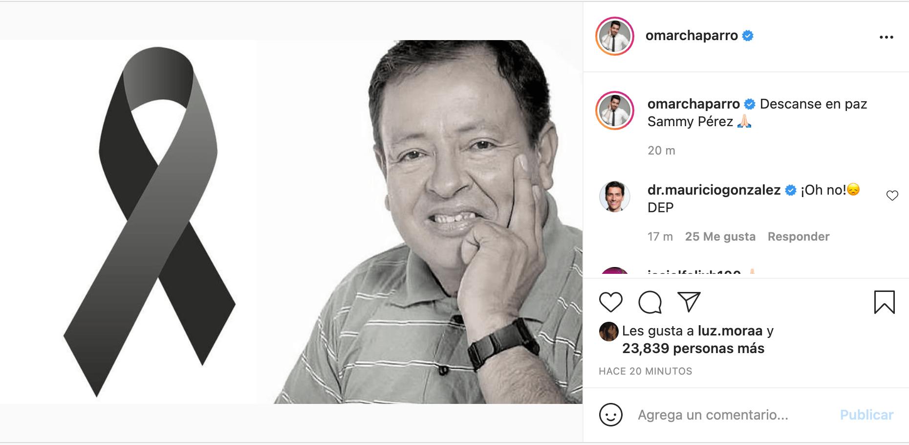 Adiós a un grande: Así reaccionó el internet ante la muerte de Sammy Pérez
